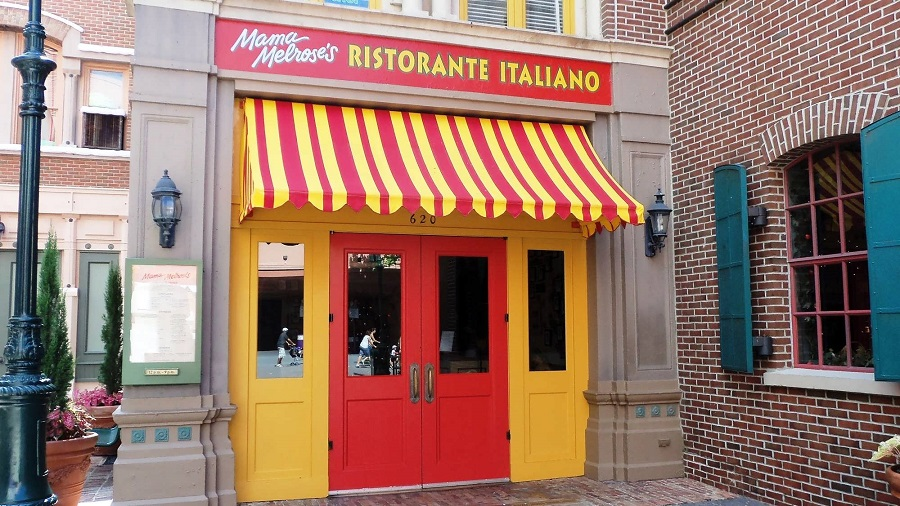 Mama Melrose Ristorante Italiano – There's good Italian food at Disney's Hollywood Studios.