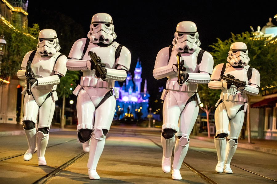 MEDIO MARATÓN DE STAR WARS EN DISNEY MEDIO MARATÓN DE STAR WARS EN DISNEY