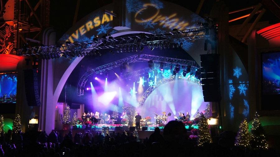 2011 Mannheim Steamroller live at Universal Studios Florida.