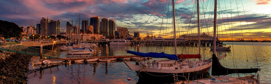 san_diego_united_states_pier_sunset_beautiful_california_97011_3840x1200