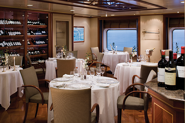 Le Champagne Restaurant Silver Shadow - Silversea Cruises