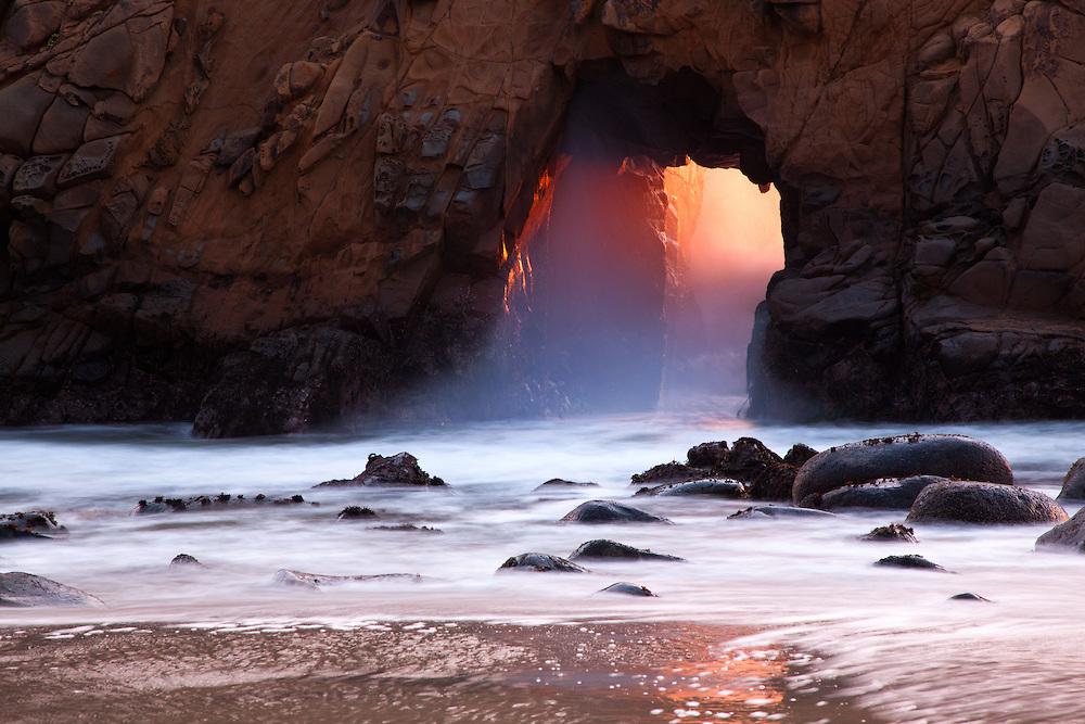 Pfeiffer-sunset-arch