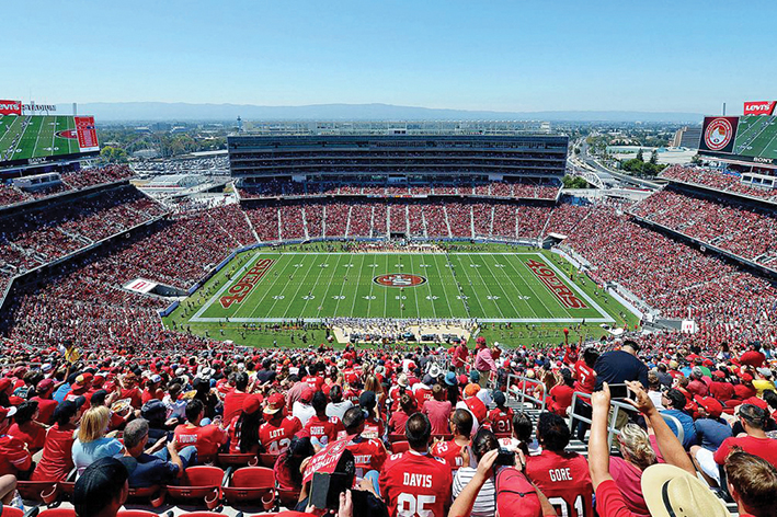 us traveler san francisco levis estadio 49ers