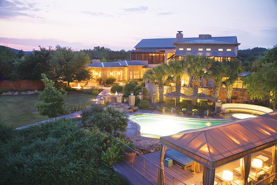 us traveler Evening LakeHouse Spa