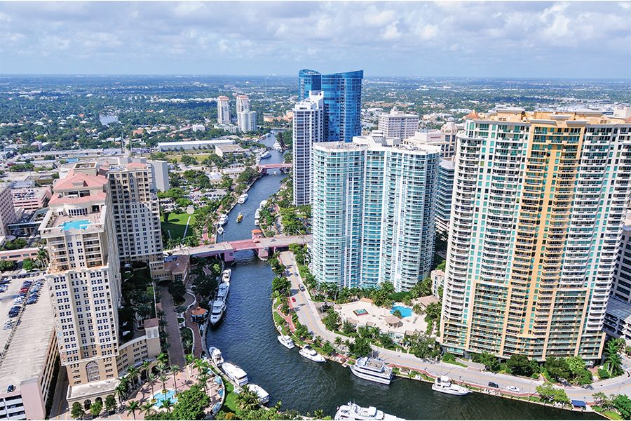 us traveler Fort Lauderdale panoramica