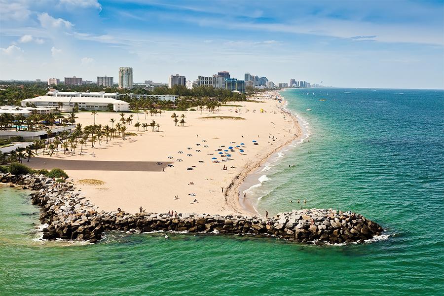 us traveler Fort Lauderdale playa