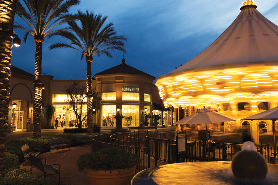 Carousel en Irvine Spectrum Center