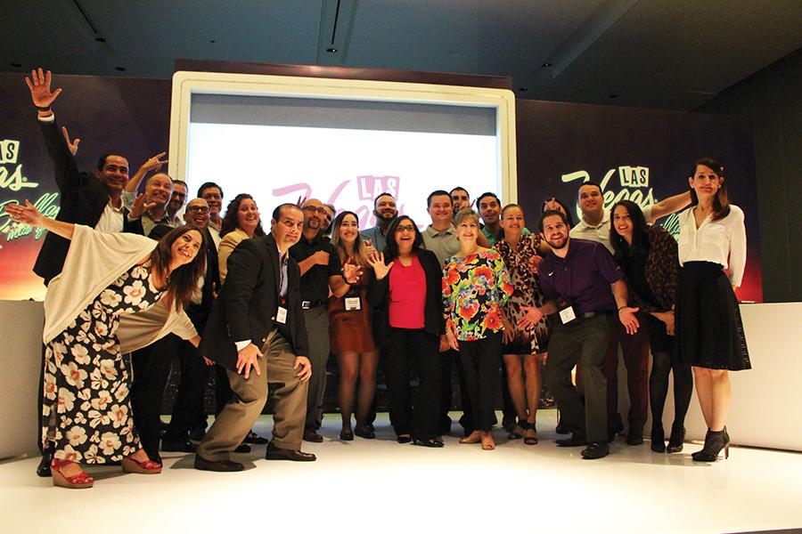 Reunion de representantes en Las Vegas en México