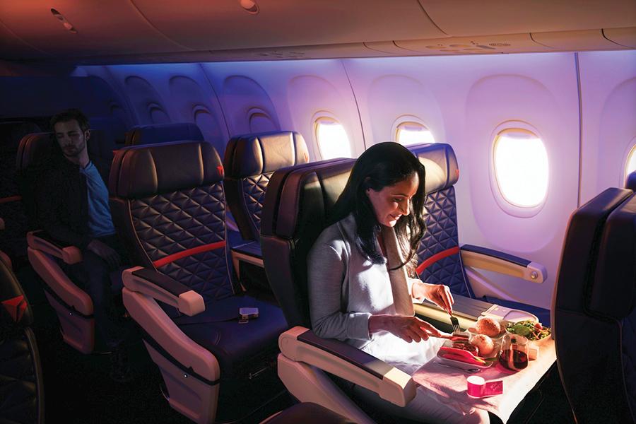 us traveler primera clase boeing 737