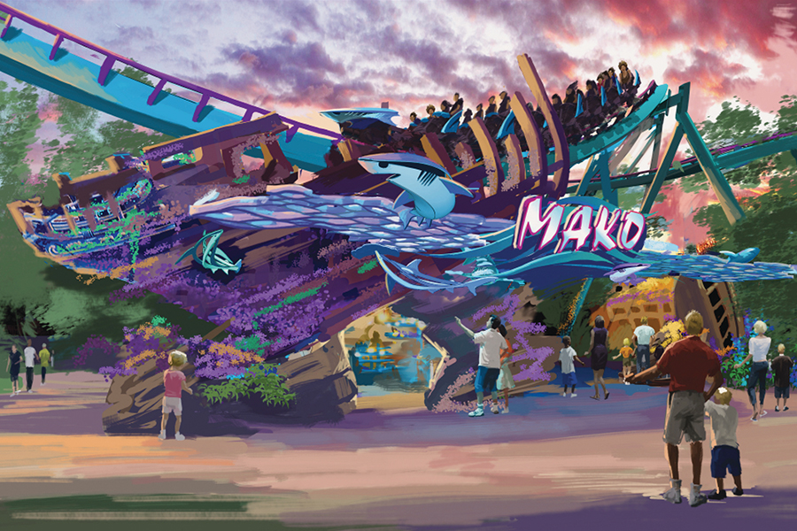 MAKO LLEGA A SEA WORLD ORLANDO
