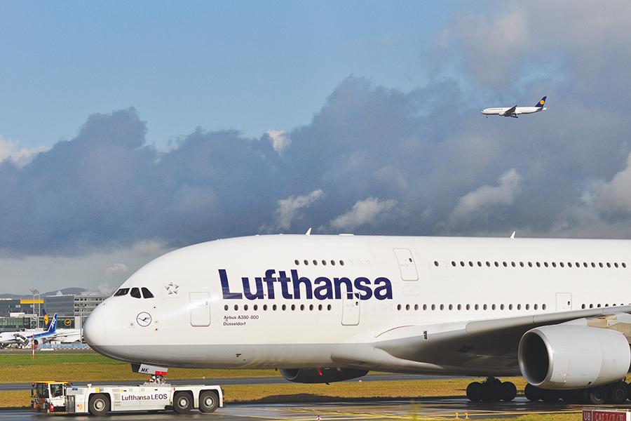 us traveler lufthansa aerolinea