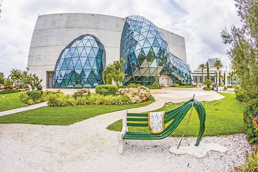 us traveler museo dali st pete florida