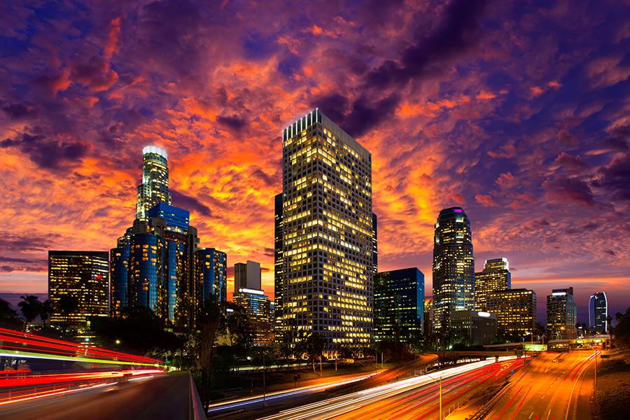 Autos exóticos, compras y cine en Los Ángeles