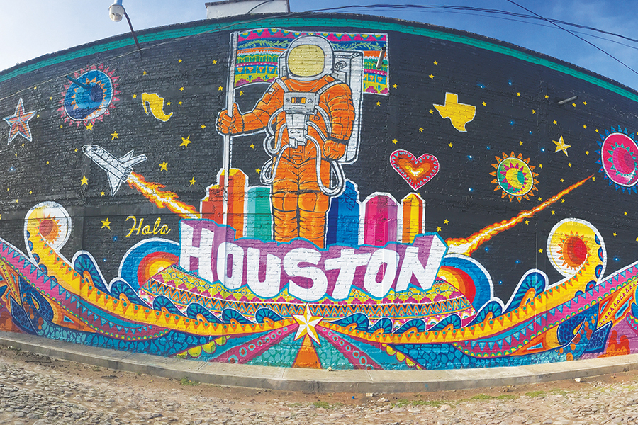 Mural de Houston en México