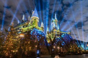 NAVIDAD EN WIZARDING WORLD OF HARRY POTTER